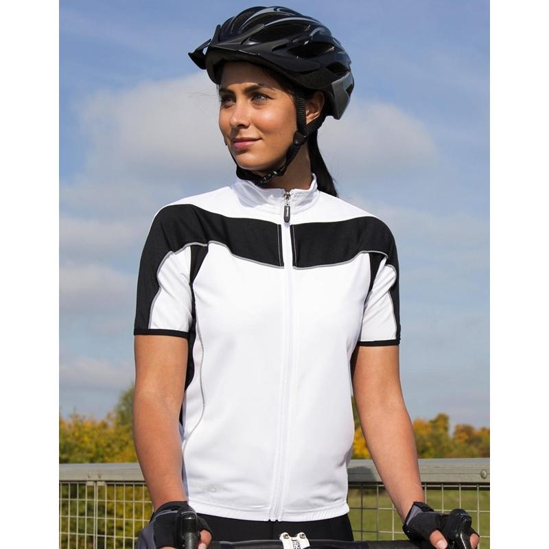 Naiste jalgratturi top Bike Full Zip