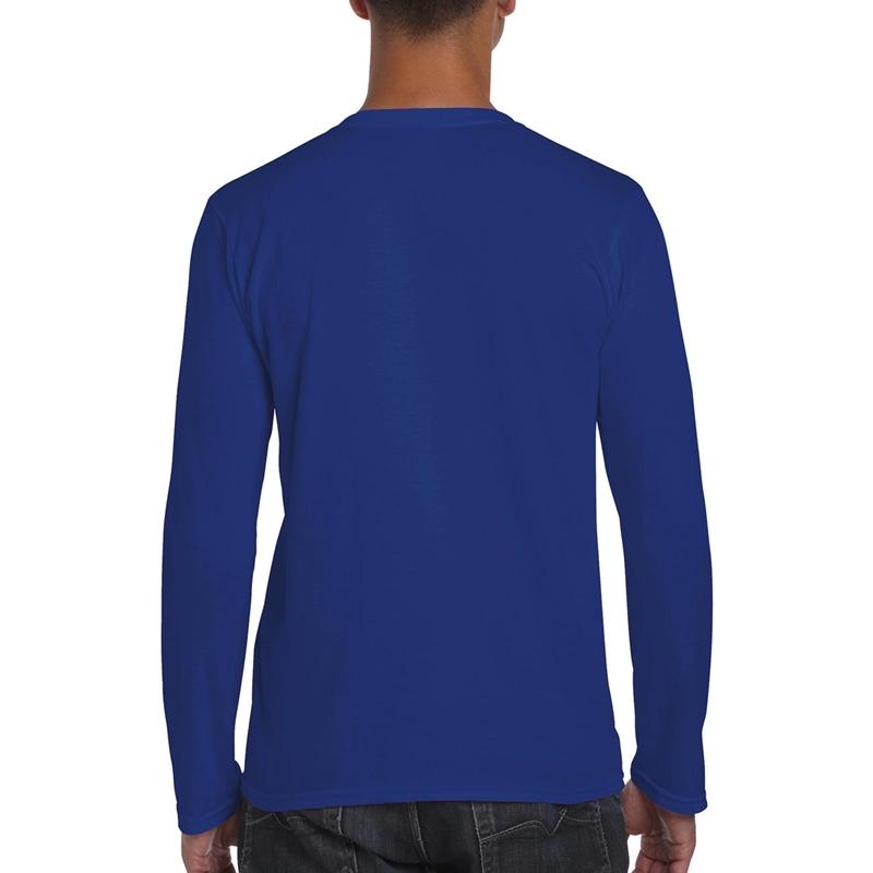 Meeste T-särk Softstyle® Long Sleeve Tee