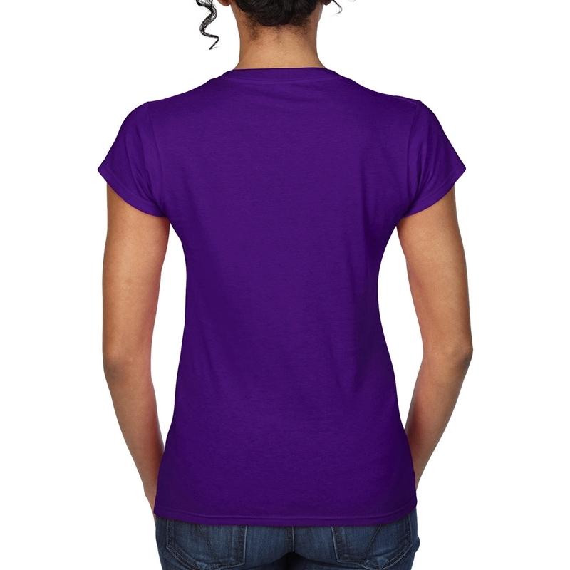 Naiste T-särk Softstyle® V-Neck