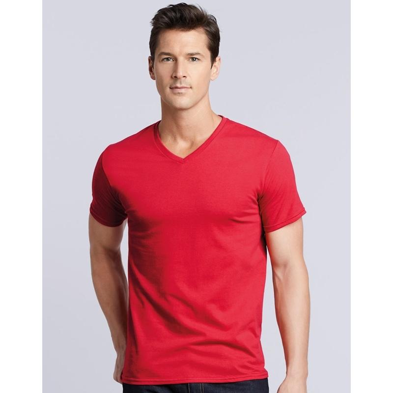 Meeste T-särk Premium Cotton Adult  V-Neck
