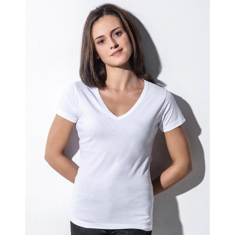 Naiste T-särk Penny Organic V-Neck