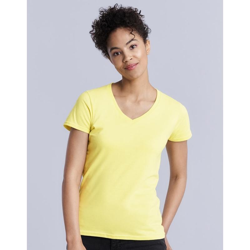 Naiste T-särk Premium Cotton V-Neck