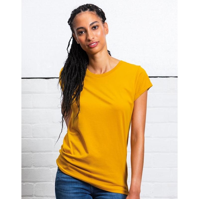 Naiste T-särk Organic Roll Sleeve T