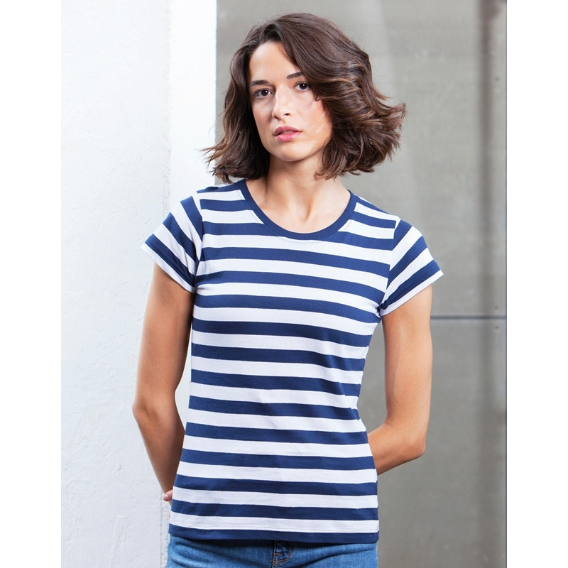 Naiste T-särk Stripy T