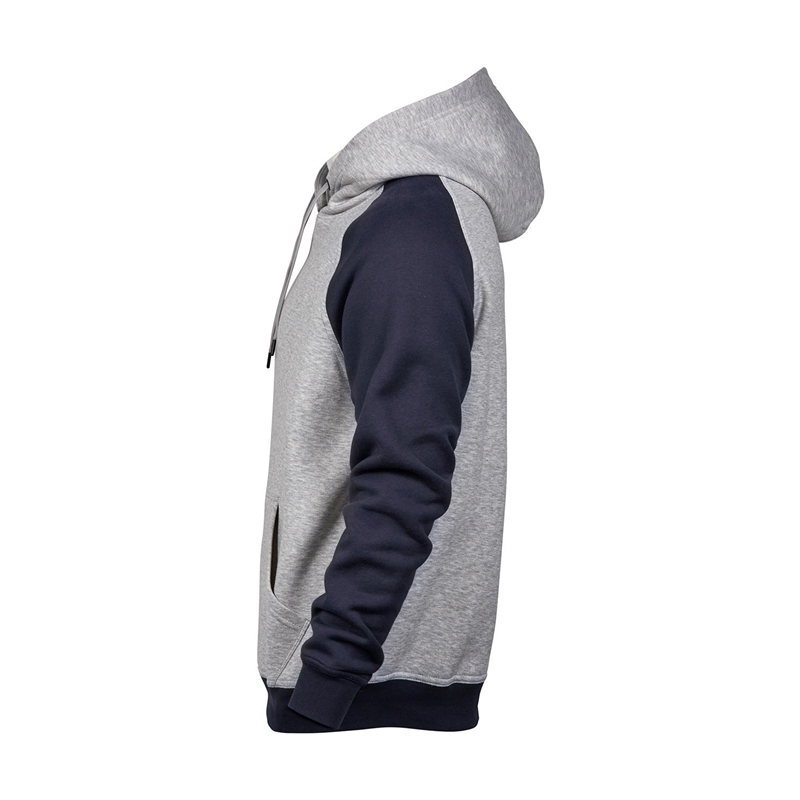 Meeste pusa Two-Tone Hooded