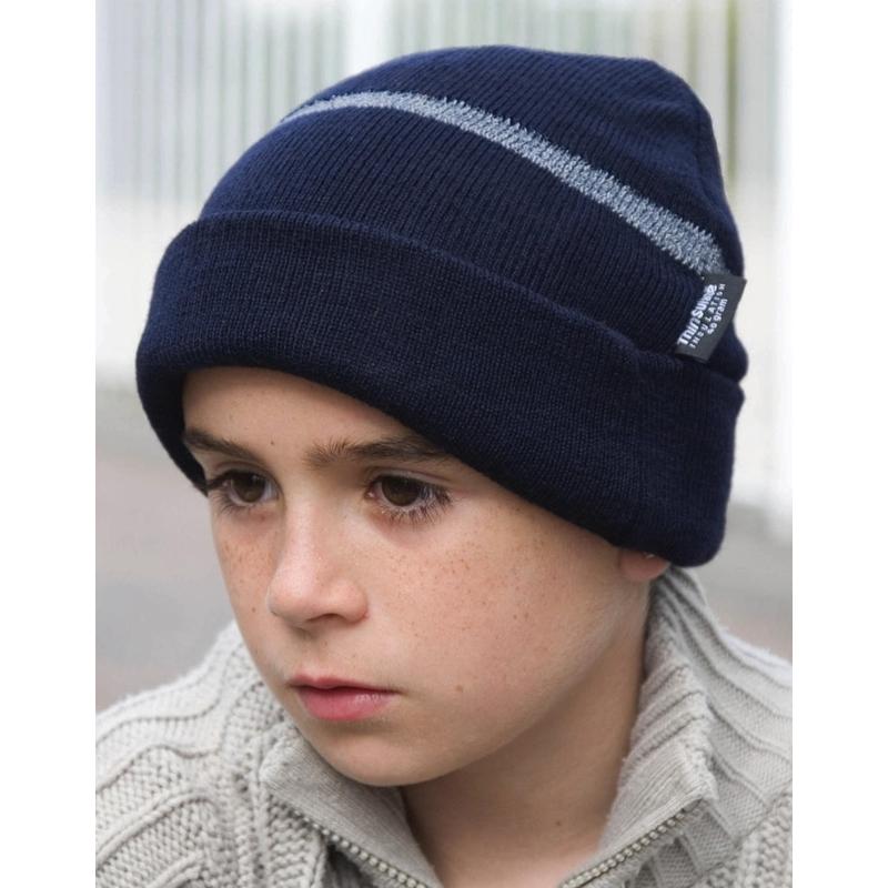 Laste kootud mütsJunior Thinsulate™ Woolly Ski Hat