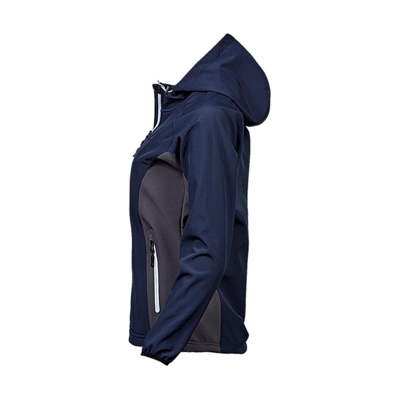 Naiste softshell Hooded Lightweight Performance