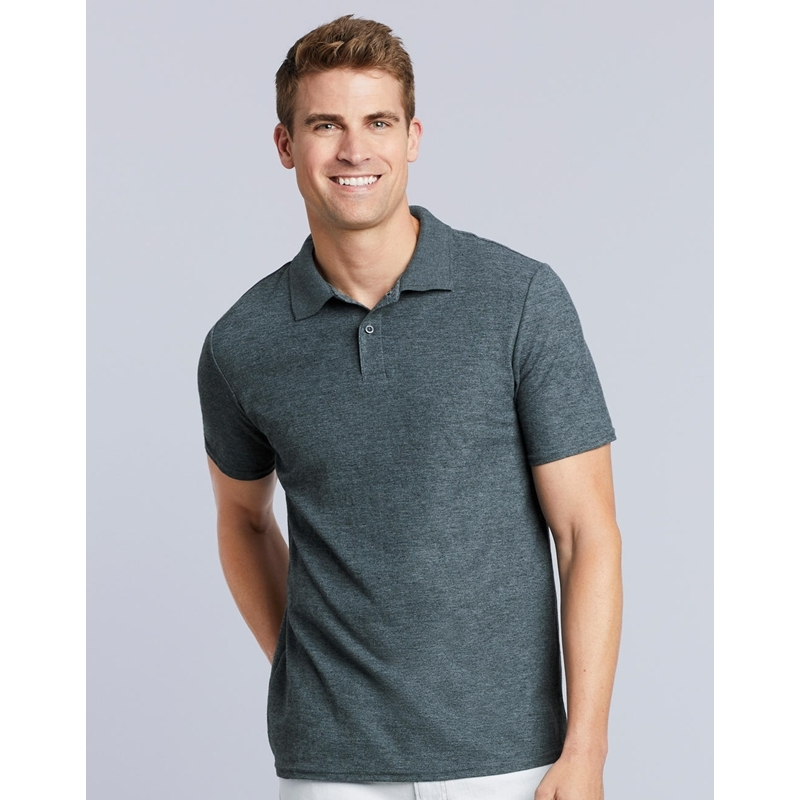 Meeste polo Softstyle® Adult Double Pique