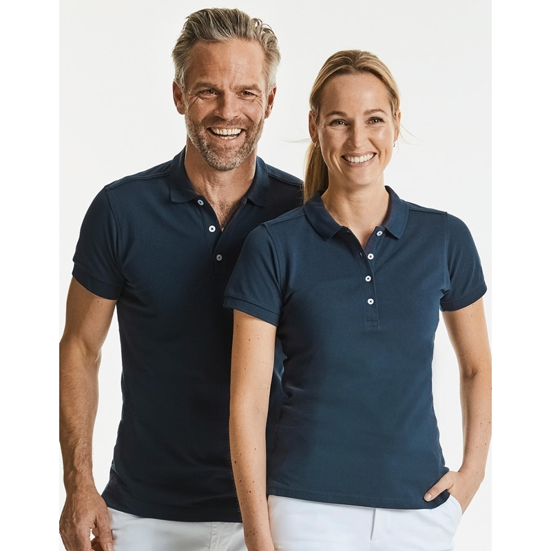 Meeste polo Fitted Stretch