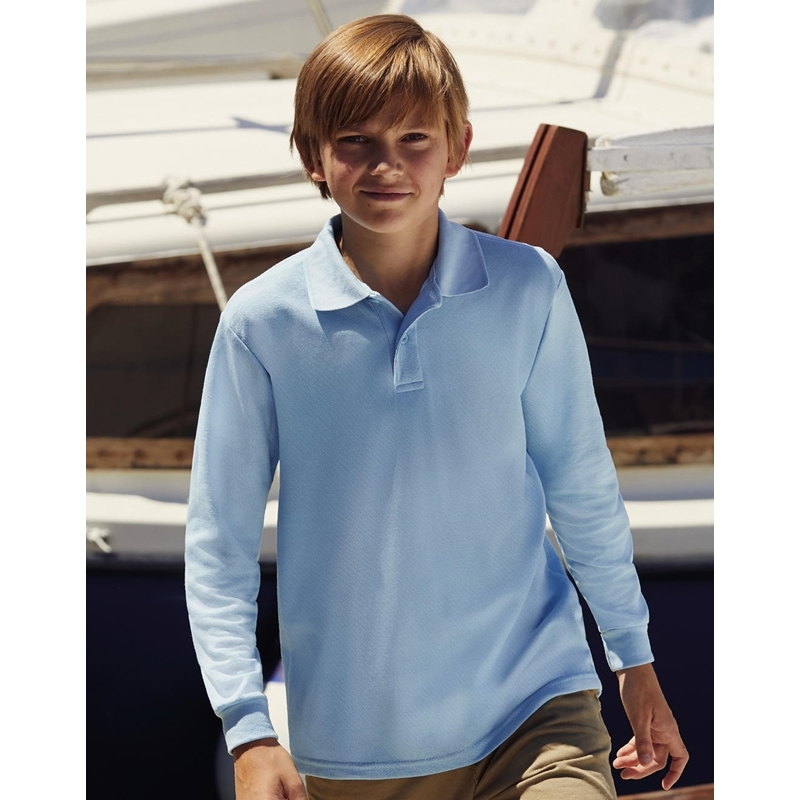 Laste polo 65/35 Long Sleeve