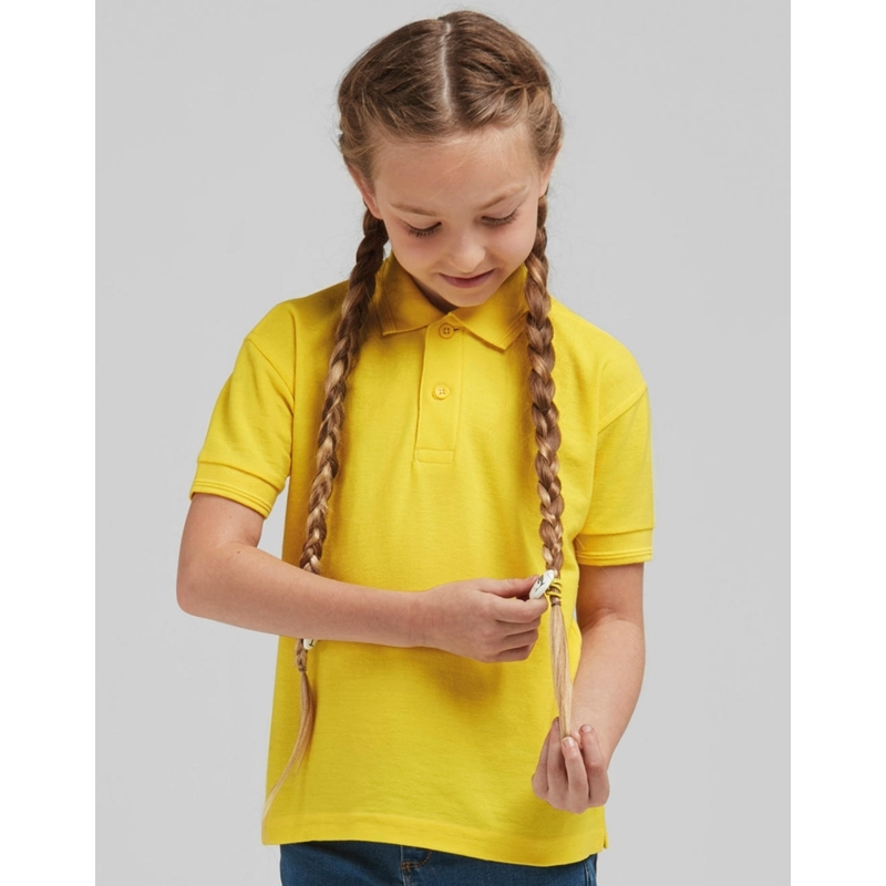 Laste polo Poly Cotton
