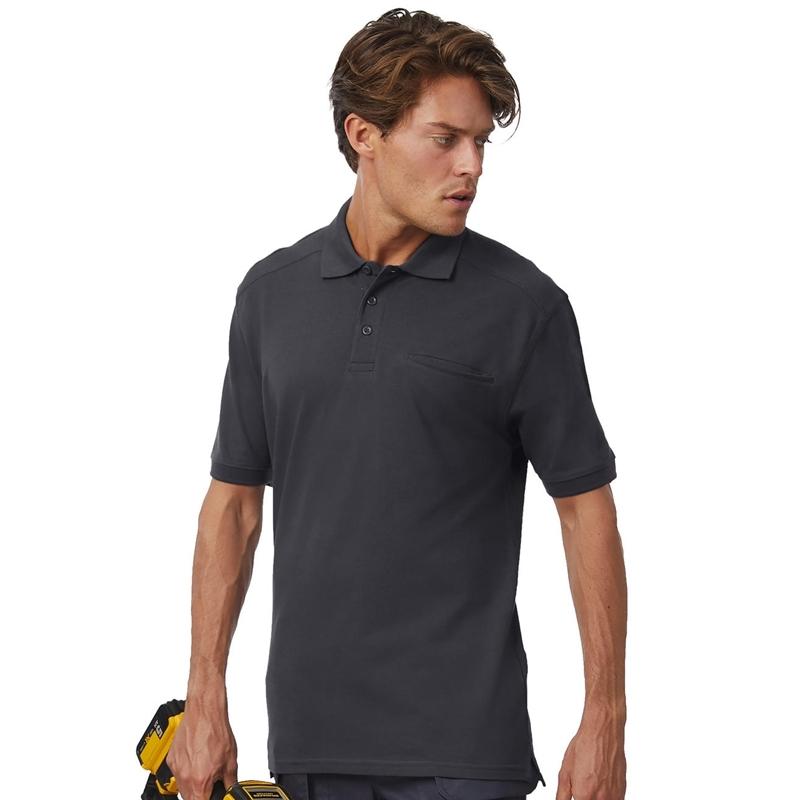 Meeste polo Skill Pro Workwear Pocket