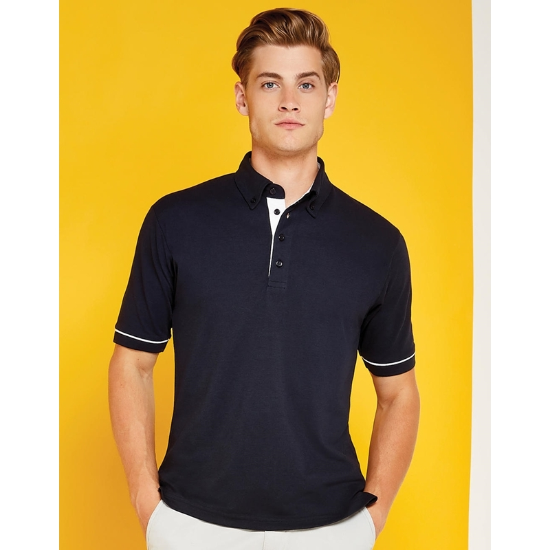 Meeste polo Classic Fit Button Down Contrast