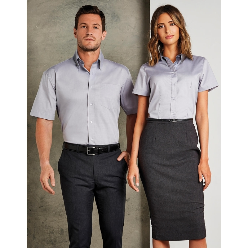 Naiste triiksärk Tailored Fit Premium Oxford SSL
