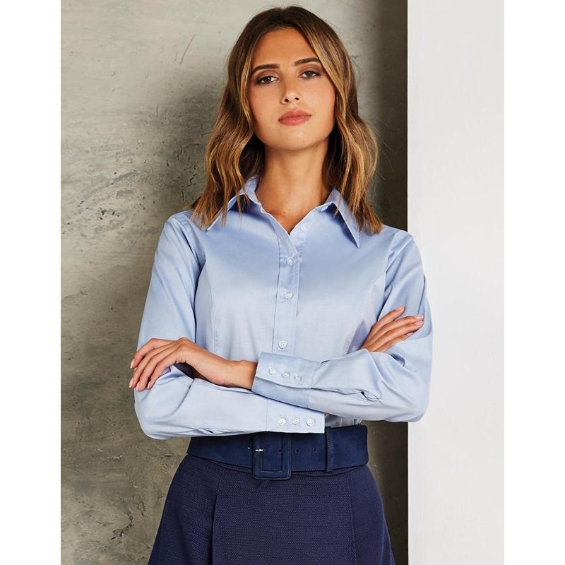 Naiste triiksärk Tailored Fit Premium Oxford