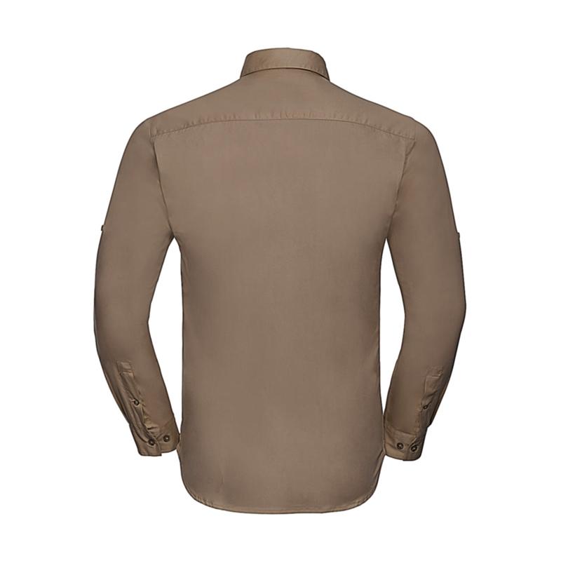 Meeste triiksärk Roll Sleeve LS