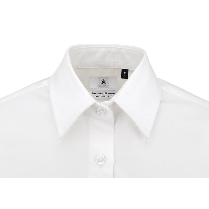 Naiste triiksärk Sharp LSL Twill