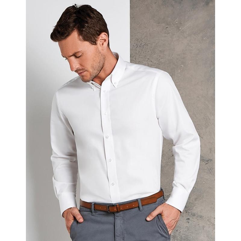 Meeste triiksärk Tailored Fit Premium Oxford