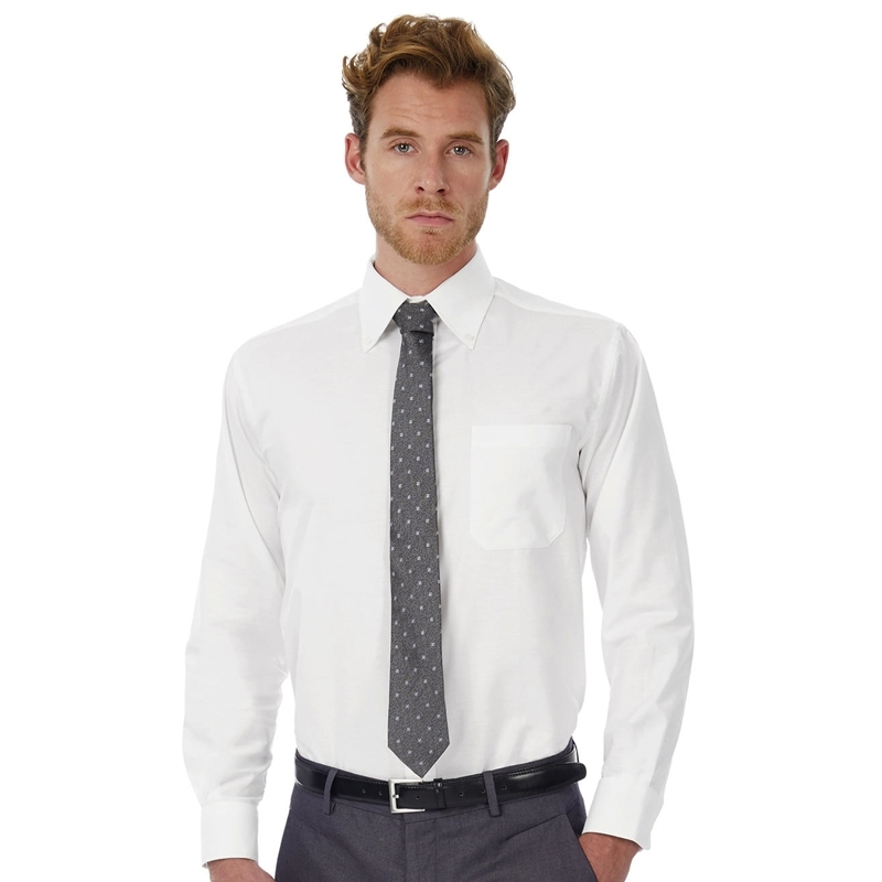 Meeste triiksärk Oxford LSL