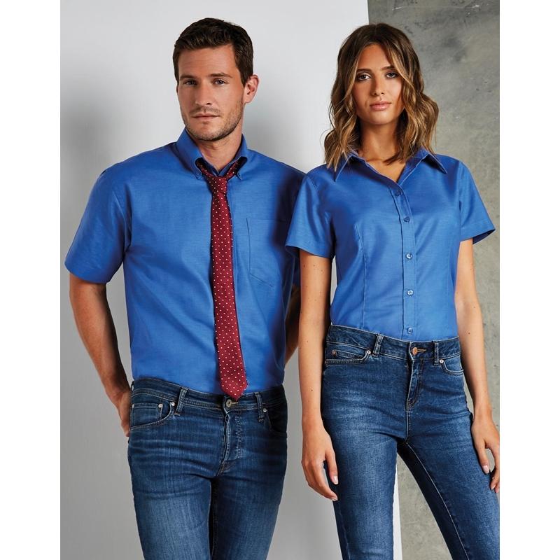 Meeste triiksärk Classic Fit Workwear Oxford SSL
