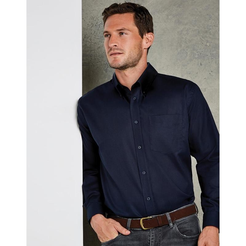 Meeste triiksärk Classic Fit Workwear Oxford