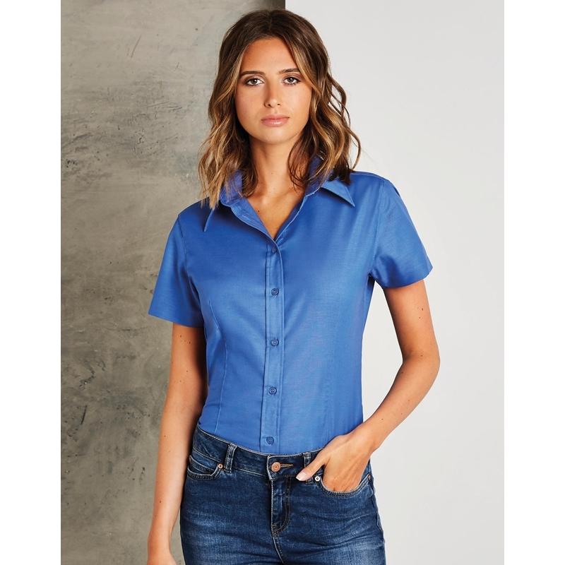 Naiste triiksärk Tailored Fit Workwear Oxford SSL