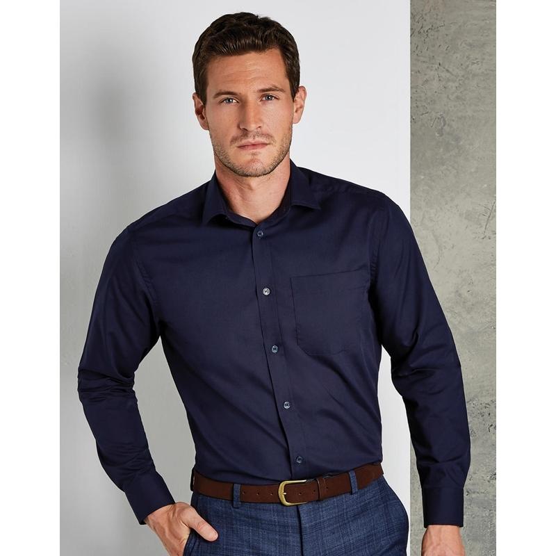 Meeste triiksärk Tailored Fit Poplin