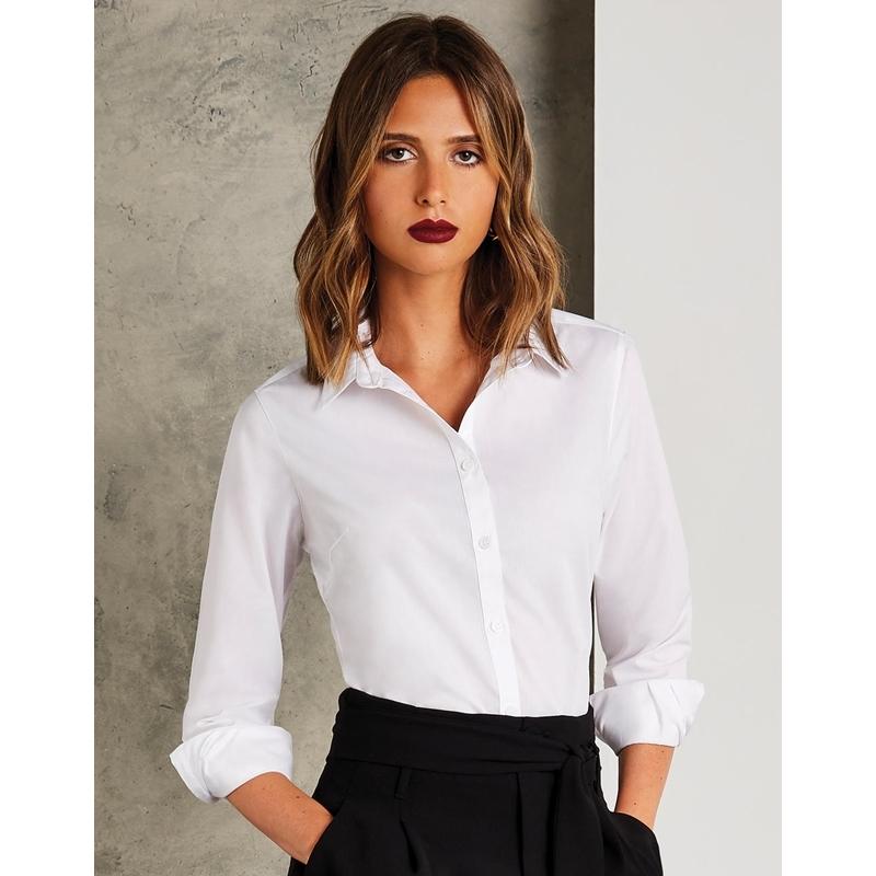 Naiste triiksärk Tailored Fit Poplin