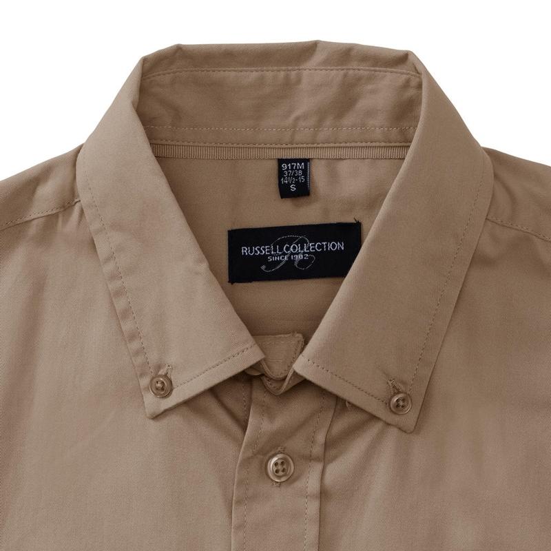Meeste triiksärk Short Sleeve Classic Twill