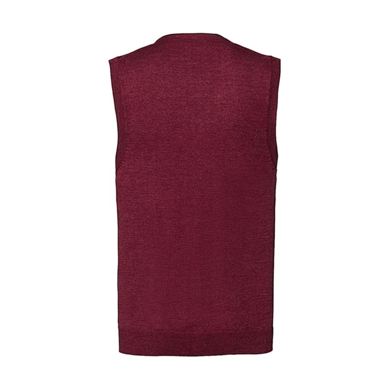 Meeste kardigan V-Neck Sleeveless Knitted