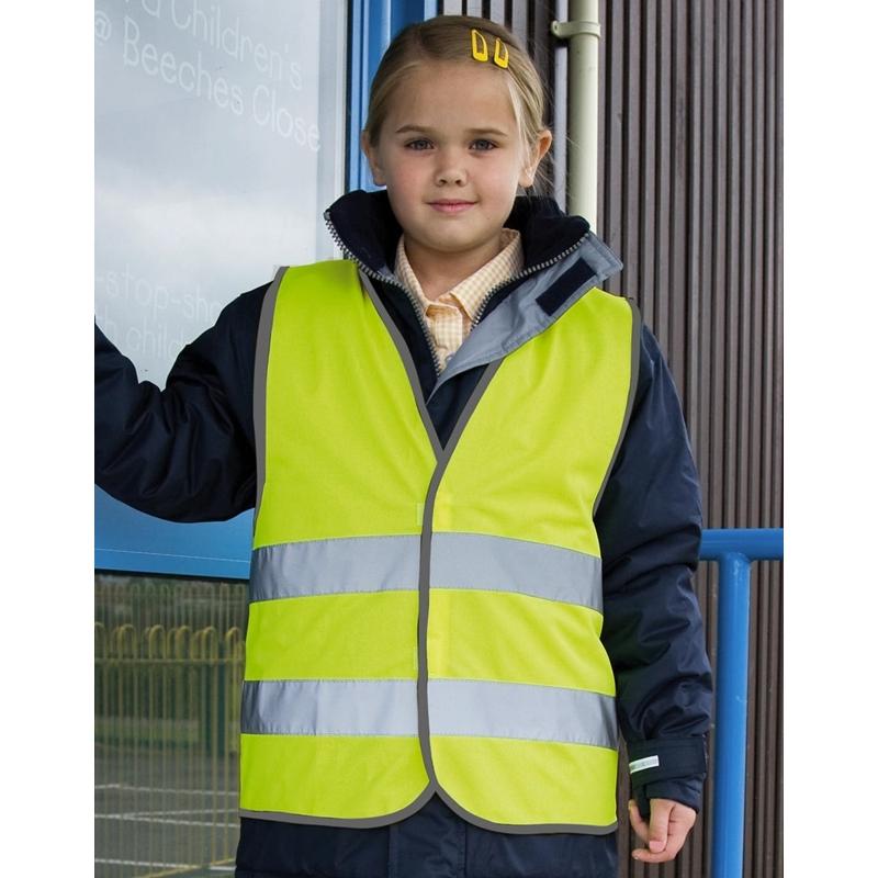 Laste helkurvest Junior Hi-Vis Safety