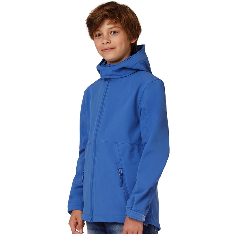 Laste softshell Hooded