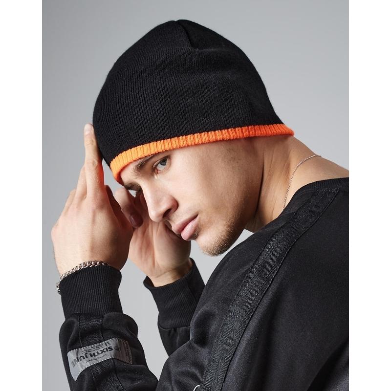 Kootud müts Two-Tone Beanie