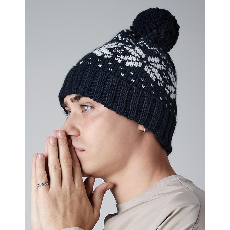 Kootud müts Fair Isle Snowstar® Beanie