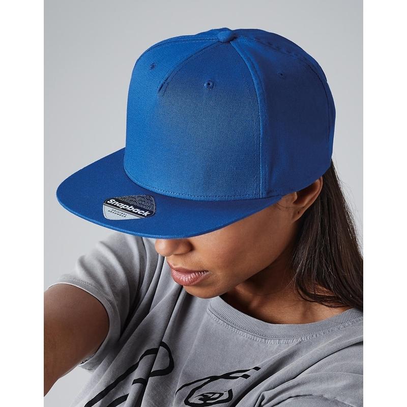 Nokamüts 5 Panel Snapback Rapper Cap