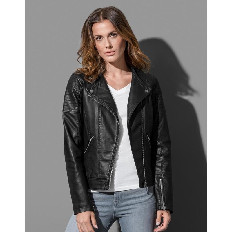 Naiste jakk Biker