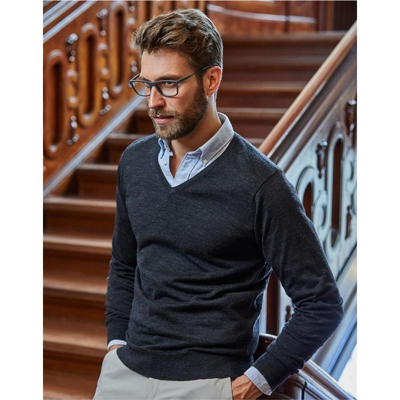 Meeste sviiter V-Neck