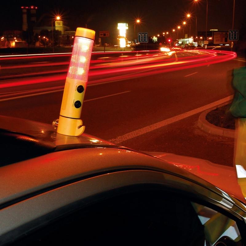 Auto avariihaamer, taskulamp, turvavöö lõikur FLASHMER